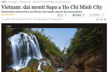 Reportage Vietnam sulla sezione In Viaggio dell'ANSA