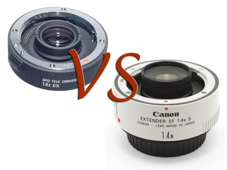 Moltiplicatori 1.4x - Canon Extender vs Sigma Teleconverter
