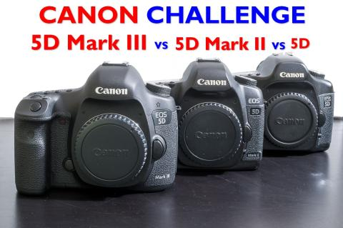 Test: Canon 5D Mark III vs 5D Mark II vs 5D